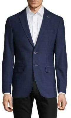 Notch Lapel Regular-Fit Sportcoat