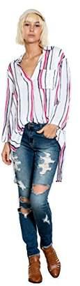 En Creme Junior's Stripe Button up Shirt