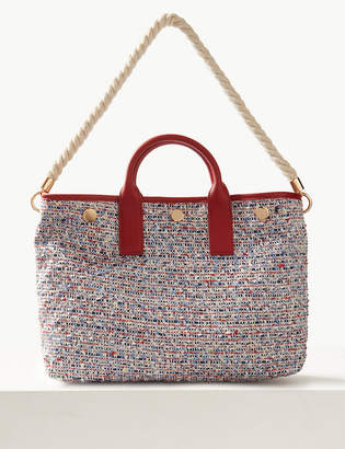 Marks and Spencer Tweed Tote Bag