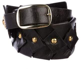 Diane von Furstenberg Studded Waist Belt