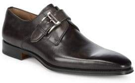 Monk Strap Leather Loafer