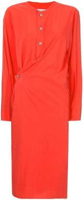 Lemaire asymmetric shirt dress