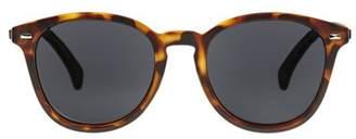 Le Specs Bandwagon Sunglasses In Matte Tort