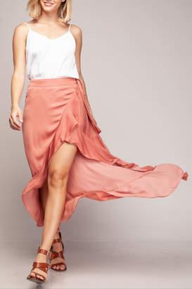 Cattiva Girl High-Low Ruffled Skirt