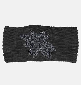 Avenue Beaded Black Headband