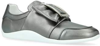 Roger Vivier Leather Sporty Viv Sneakers