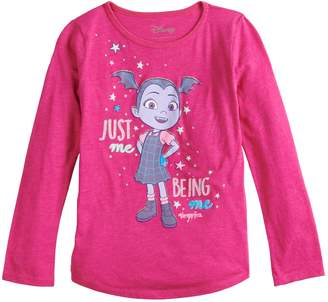 """Disney's Vampirina Girls 4-10 """"Just Me Being Me"""" Graphic Tee by Jumping Beans"""