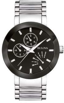 Bulova Men's Classic Multifunction Watch, 96C105