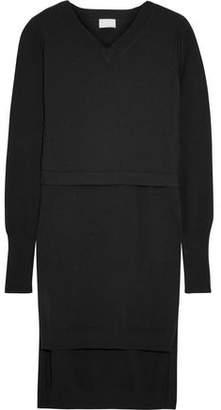 DKNY Layered Cotton-Blend Tunic