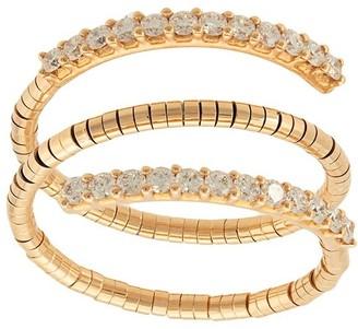 Mattia Cielo 18kt rose gold diamond triple ring
