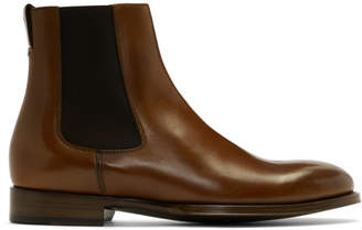 Paul Smith Tan Joyce Chelsea Boots