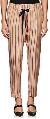 Giada Forte Women's Striped Polished Twill Pants