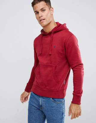 French Connection Basic Overhead Hoodie With Logo