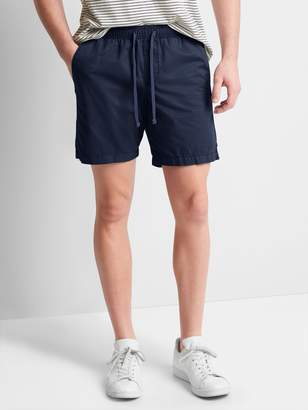 "Gap 7"" Twill Jogger Shorts"