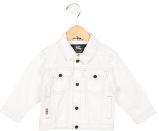 Burberry Kids' Denim Jacket $85 thestylecure.com
