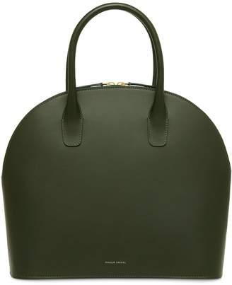 Mansur Gavriel Calf Top Handle Rounded Bag - Moss