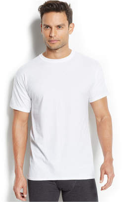 Hanes Men's X-Temp Crew-Neck T-Shirt 5-Pack + 1 extra bonus Undershirt $38 thestylecure.com
