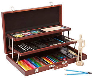 Alex Toys Art Studio Expressions Deluxe Wooden Drawing Case