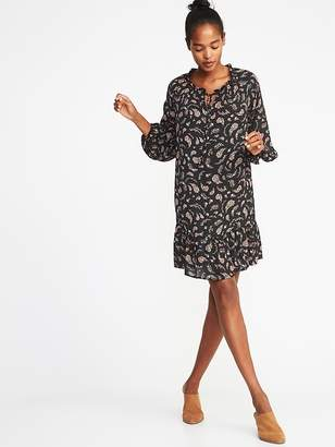 Old Navy Ruffled Georgette Swing Dress for Women