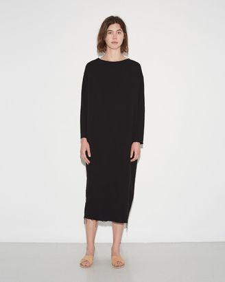 Black Crane Quilted Long Dress $168 thestylecure.com