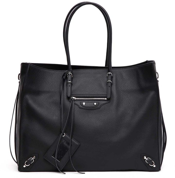 Balenciaga  Balenciaga 'papier A4' Zip Around Shopper Bag
