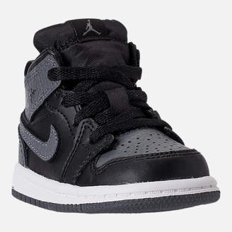 Nike Kids' Toddler Air Jordan 1 Mid Retro Basketball Shoes