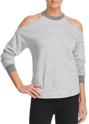 AG Jeans Gigi Cold-Shoulder Sweatshirt