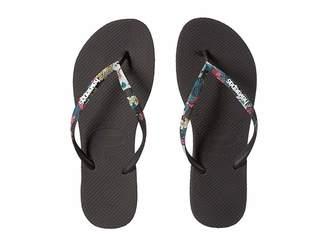 Havaianas Slim Tropical Straps Sandal