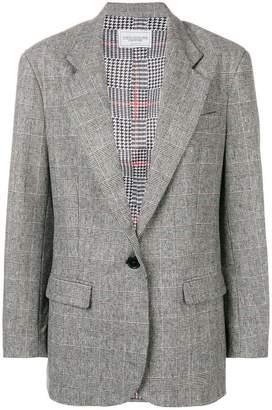 Couture Forte Dei Marmi check pattern blazer