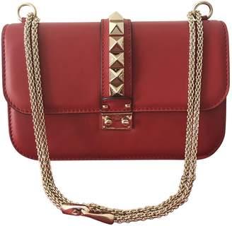 Valentino Glam Lock leather handbag