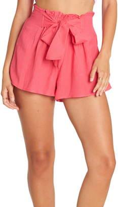 Billabong Flirt For It Tie Waist Shorts