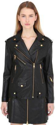 Gigi Hadid Leather Biker Jacket $700 thestylecure.com