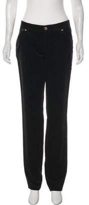 Tory Burch Corduroy Mid-Rise Pants