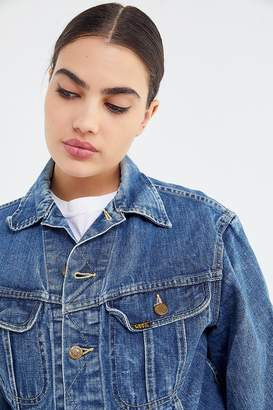 0002c18b Vintage Denim Jacket - ShopStyle Australia