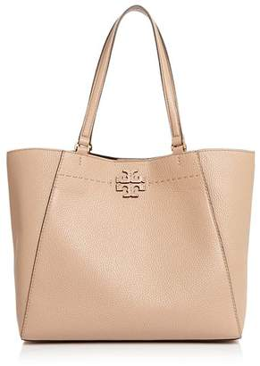 Tory Burch McGraw Large Leather Carryall Tote