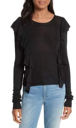 Rebecca Minkoff Lou Ruffle Sweater