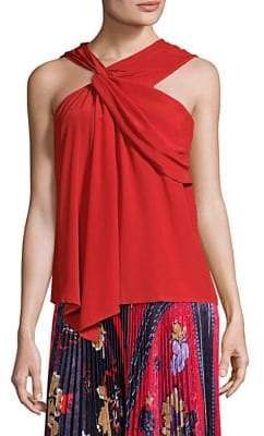 Yigal Azrouel Drapery Fit Tank Top