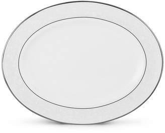 "Lenox Dinnerware, 16"" Opal Innocence Large Oval Platter"