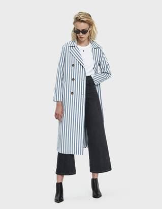 Farrow Lillah Striped Trench Coat