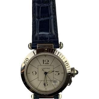 Cartier Pasha White White gold Watches