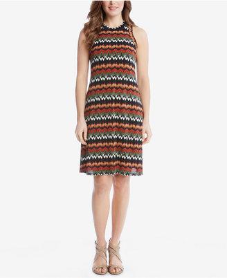 Karen Kane Printed A-Line Dress $99 thestylecure.com