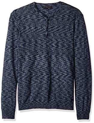 John Varvatos Men's Henley Sweater