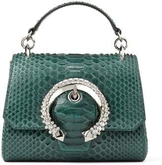 Jimmy Choo Snakeskin Madeline Top Handle Bag