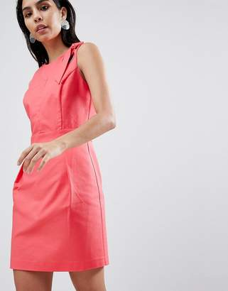 Sisley Tailored Dress With Hardware Detail