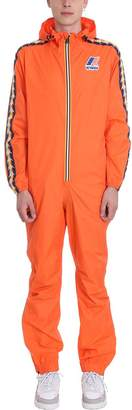 K-Way K Way Orange Nylon Suit Kappa X