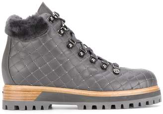 Le Silla quilted mountain boots