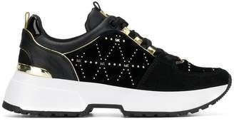 MICHAEL Michael Kors logo stud sneakers