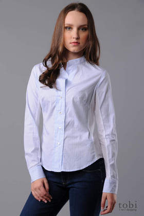 James Perse Stripe Poplin Shirt