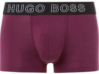 HUGO BOSS Stretch-Cotton And Modal-Blend Boxer Briefs