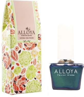 Black Opal ALLOYA Forever Aroma Alloya Natural Non-Toxic, Five-free, Vegan formula Nail Polish, Peel Off & floral scented,